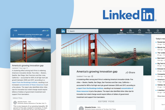 LinkedIn Daily News