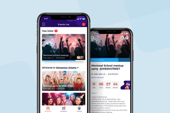MOSEA - Event Crowdfunding App