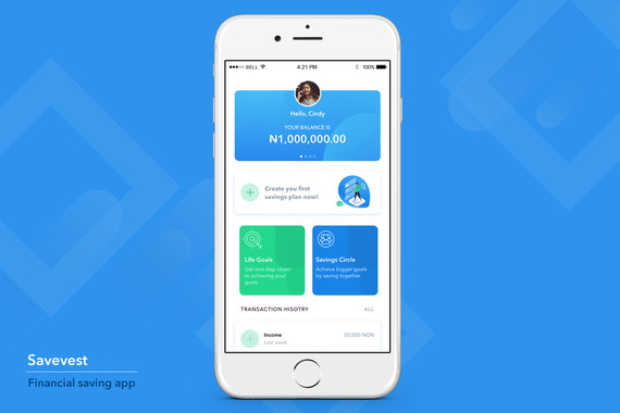 Savest - Android and iOS Financial Saving App