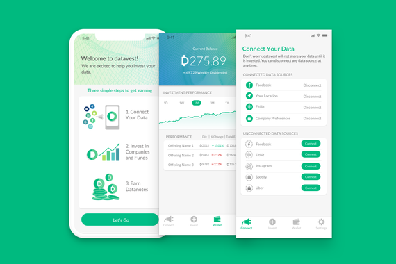 Datavest: Investment App Redesign
