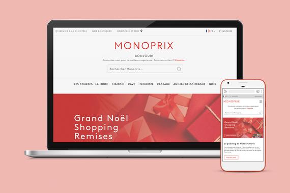 Monoprix - Web Platform