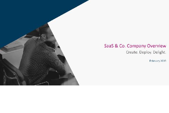 SaaS & Co | Company Overview