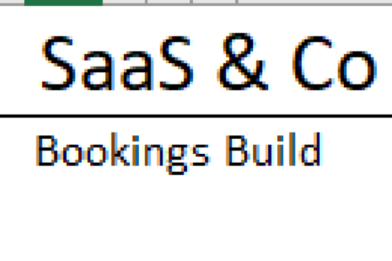 SaaS & Co | Booking Model