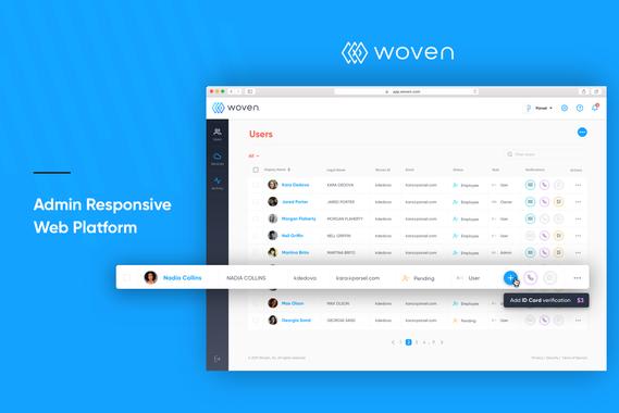 Admin Web Platform