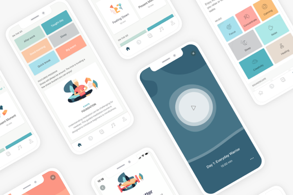 Deeply: Meditation and Self-Care App