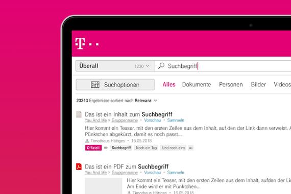 Deutsche Telekom: Social Workplace and Intranet