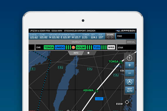 Jeppesen (Boeing): Apps for Commercial Aviation