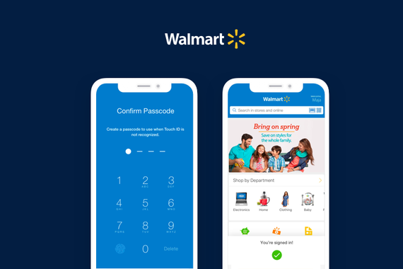 Walmart iOS and Android Apps