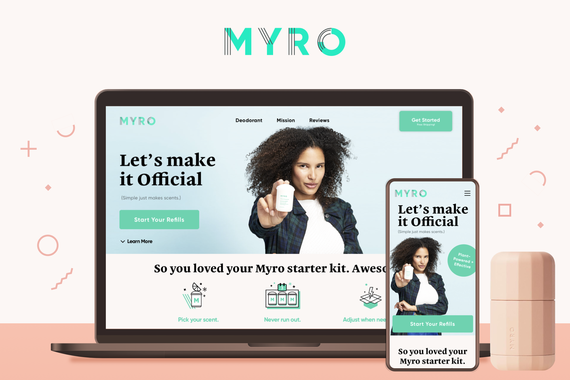 Myro—Responsive eCommerce Website