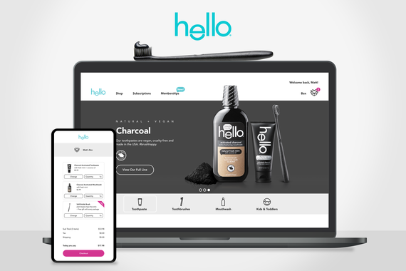 Hello Toothpaste—Responsive eCommerce Website