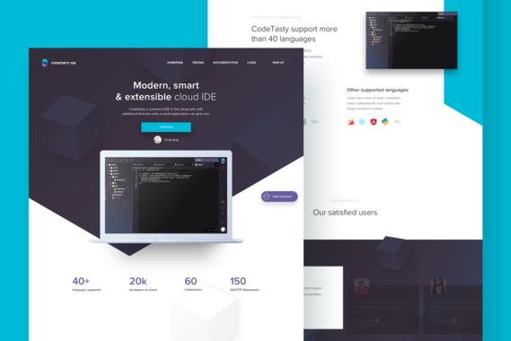 CodeTasty IDE: Modern, Smart, and Extensible Cloud IDE