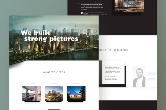 Pictown: Building Strong Pictures
