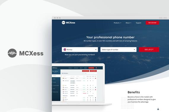 MCXess|Website Redesign