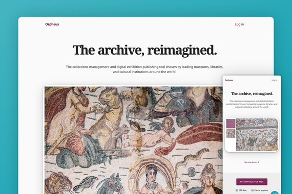 Orpheus — Archiving for the Digital Humanities