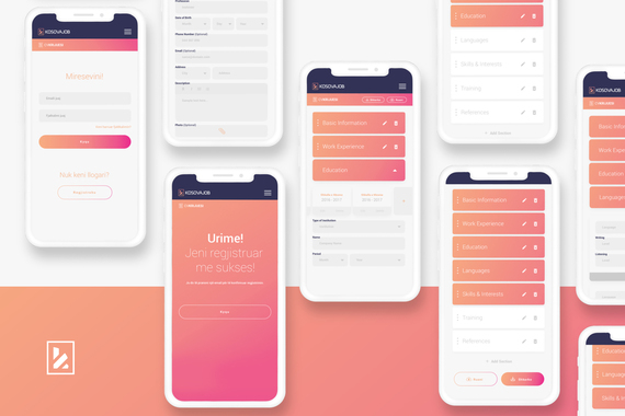 Website and Mobile Web App for HumanPower