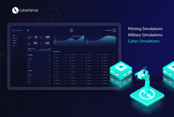 Website, Branding, and Dashboard for Cyberlance