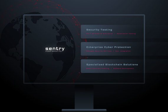 Website and Branding for Sentry Cybersecurity