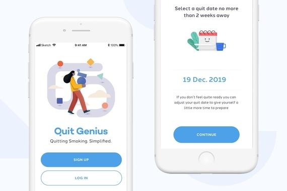 Quit Genius Experience Design