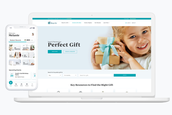 Shopafor Web and Mobile App UI/UX