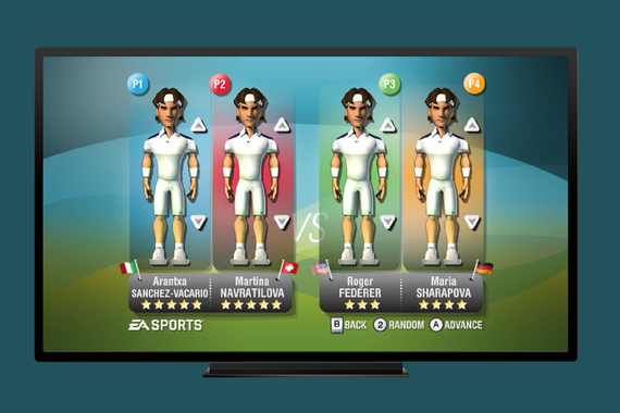 EA Sports – Tennis for XBOX 360 and PS3