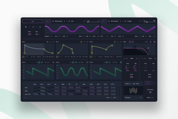 Ableton Wavetable Redesign | UX, UI, Visual Design