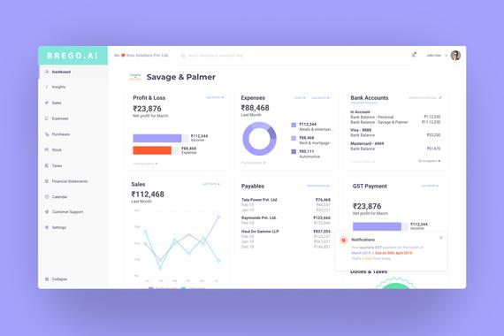 Brego - Finance App