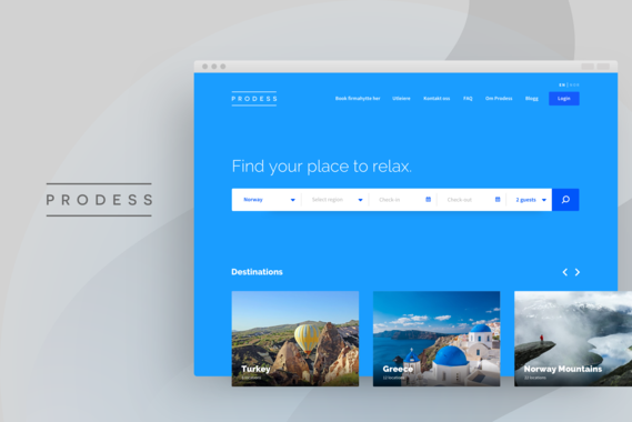 Prodess|Website UX/UI Design