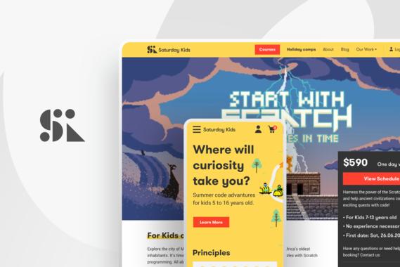 Saturday Kids|Website Redesign