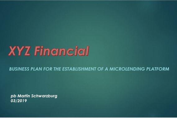 Established a Microlending Platform
