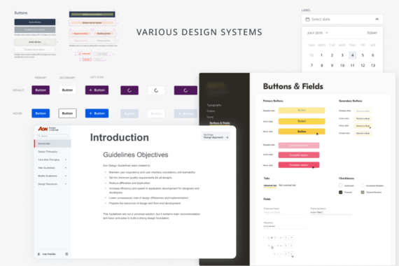 Various Design Systems