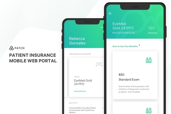 Patch - Patient Insurance Mobile Web Portal