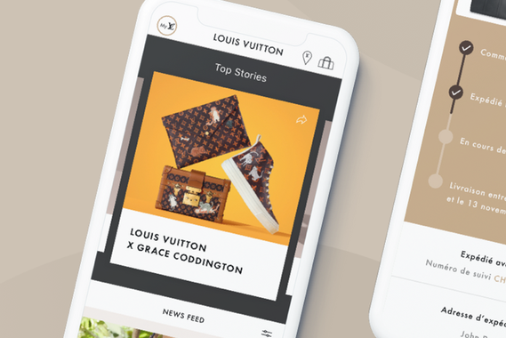 Louis Vuitton Application