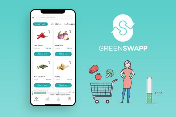 GreenSwapp - Sustainable Groceries