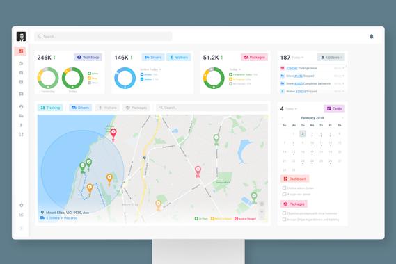 Campaign Management Platform – Dashboard and Management Design