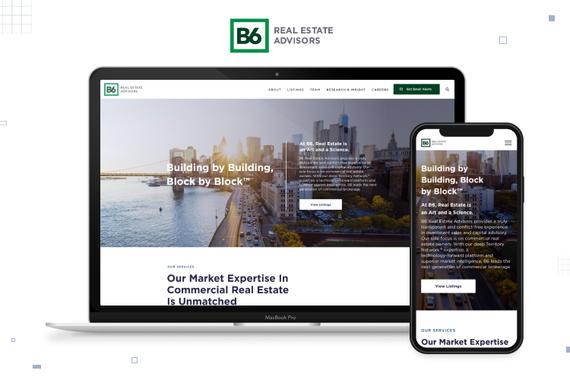 UI/UX Design for a Real Estate Company