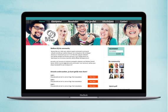 UI Design - Community Panel Website