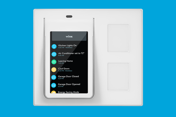 Wink Relay Wall Panel