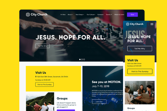City Church – A New Digital Home