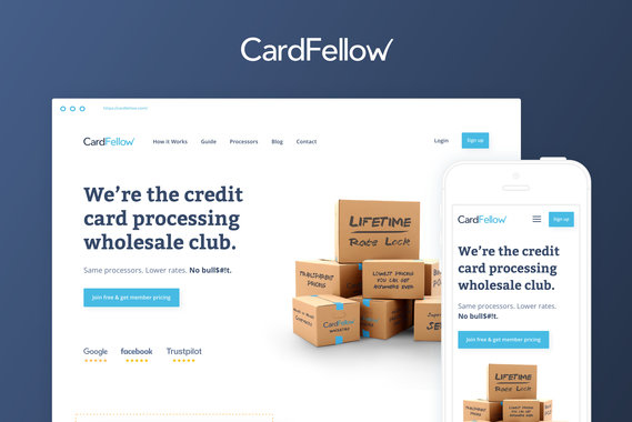 CardFellow Responsive Website