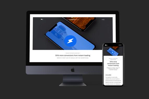 The Johnson Group Website Design