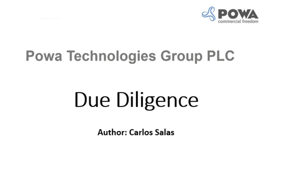Private Equity Due Diligence: Fraud Detection - Powa
