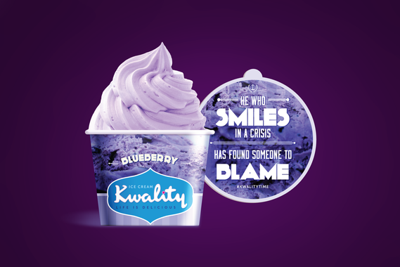 Kwality Ice Cream | Branding and Typography