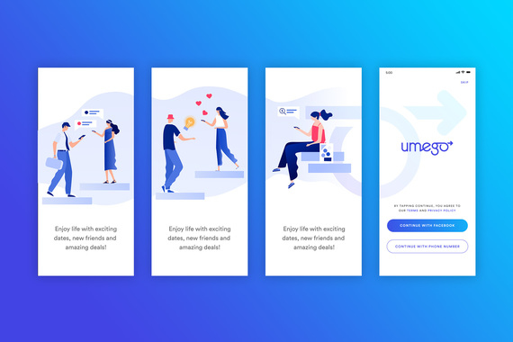 Umego - Dating/Social/Rewards Mobile App