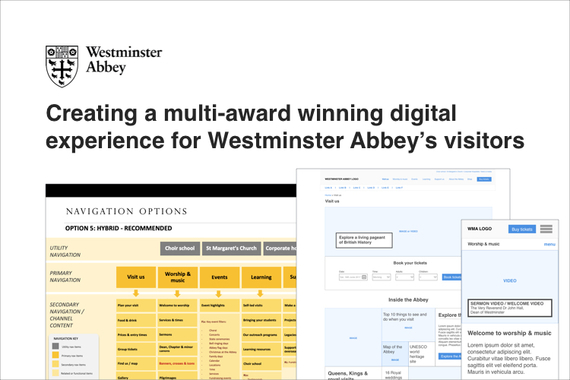 Westminster Abbey – Responsive Website