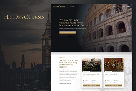 HistoryCourses Learning Platform