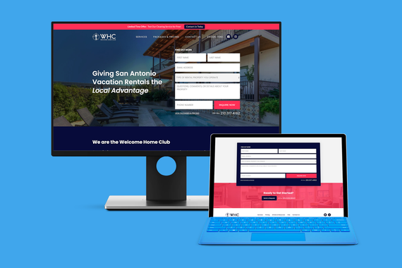Webflow Lead Generation Website
