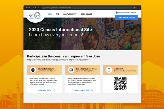 City of San Jose - Census 2020 Info Site