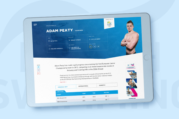 New Site for the UK's Best British Swimming