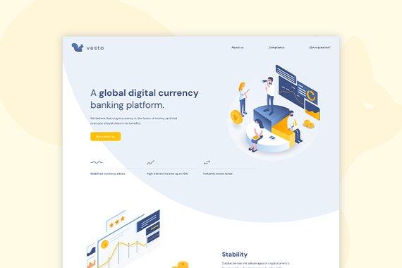 Vesto: A Global Digital Currency Banking Platform