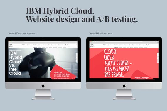 IBM Hybrid Cloud: Website Design.